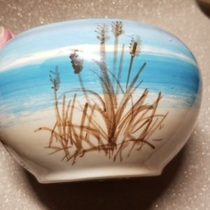 Accents - Englewood Florida Handpainted Seashore Bowl